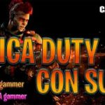 CALL of DUTY chica GAMER (BLACK OPS 4) con autenticos chatines