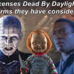 Dead By Daylight| Licenses they confirm they have considered!