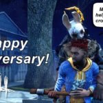 Dead By Daylight live stream| Happy Anniversary! Let's get crowns!