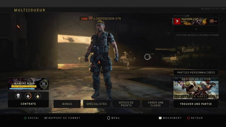 Live call of duty : black ops 4 domination harcord