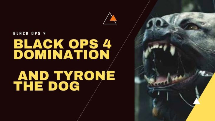 Call of Duty Black ops 4 multiplayer Domination Tyrone the dog
