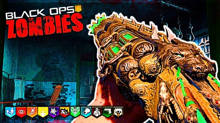 BEST BO4 MAP!!! | Call Of Duty Black Ops 4 Zombies Blood Of The Dead Pistols Only Easter Egg + CW MP