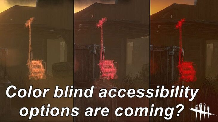 Dead By Daylight| Color blind accessibility options are coming for Chapter 19?