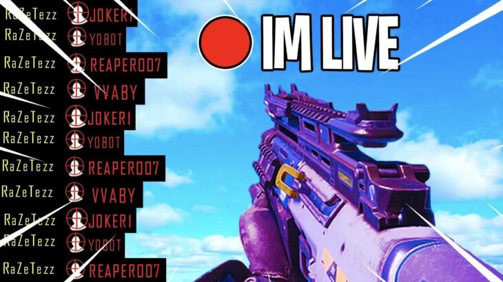 COD BLACK OPS 4 LIVE!// HOW CRACKED CAN I GET?// 4.4KD LVL 1000// 4.2K SUB GRIND!
