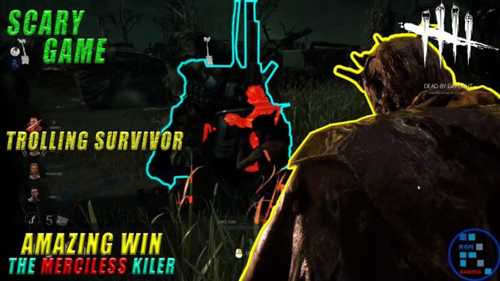 Dead By Daylight | RON The Merciless Killer Is Trolling Survivor Being Invisible