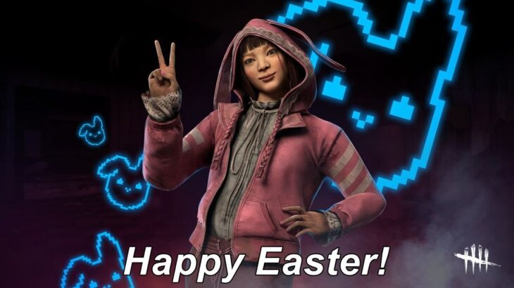Dead By Daylight live stream| Happy Easter! Last day for Streamloots Easter collection!