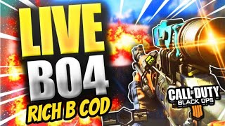 LIVE CALL OF DUTY  BLACK OPS 4 (HARD CORE) MULTIPLAYER [PS4] 18+[BO4 SERVERS ARE GETTING BAD]