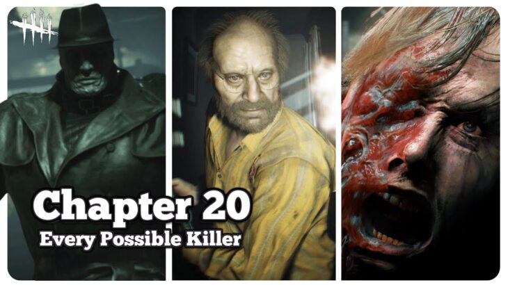 Every Possible Resident Evil Killer For Chapter 20 – Dead by Daylight