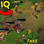 """15 Minutes """"BIG BRAIN PLAYS"""" in League of Legends"""