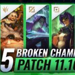 15 MOST BROKEN Champions to PLAY – League of Legends Patch 11.16 Predictions