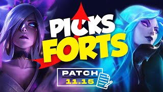 🔥 Picks Forts 🔥 – SoloQ & Meta – [Patch 11.15] – League of Legends