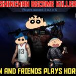 SHINCHAN AND FRIENDS PLAYS SASTA DEAD BY DAYLIGHT😂   SHINCHAN BECOME OVERPOWER KILLER😈   HORRORFIELD
