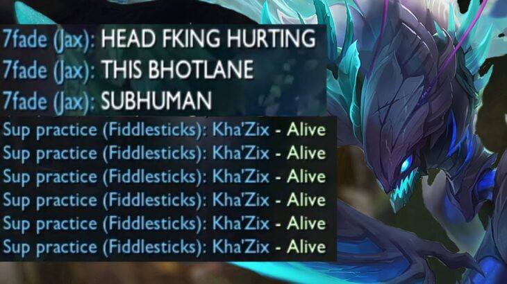 The toxic league of legends experience.