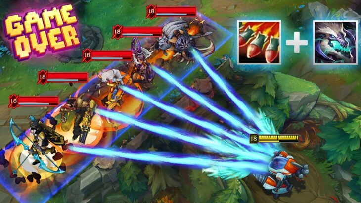 """15 Minutes """"SUPER SATISFYING DELETES"""" in League of Legends"""
