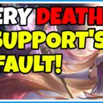 Jungler blames support for DYING – League of Legends