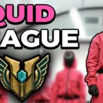 Squid game, but it's League of Legends.